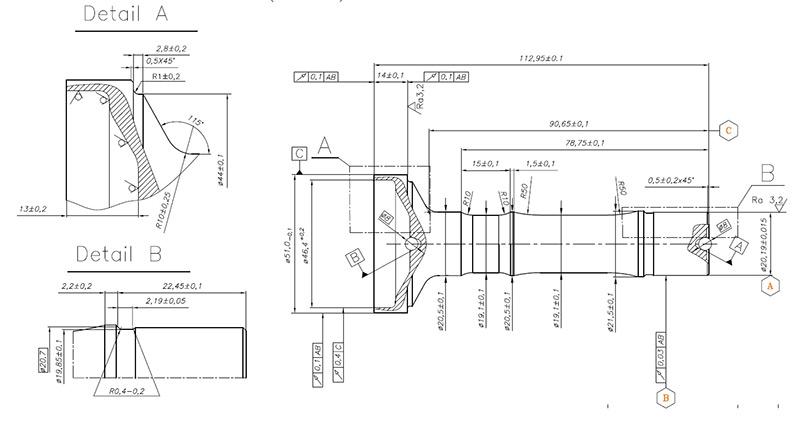 Schemat kompaktowego system zautomatyzowanej obsługi obrabiarek CNC z optomechatronicznym modułem kontroli jakości wyrobów