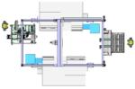 Kompaktowy system zautomatyzowanej obsługi obrabiarek CNC z optomechatronicznym modułem kontroli jakości wyrobów
